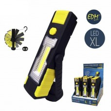 Led Cob Xl Lens Dual function 1Led X 3W rubber waterproof with hook and magnet 36381 EDM Spain