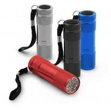 Aluminum lens 9 LEDS Aluminium Torch ALTAIR EOT004M Esperanza 1 pc.