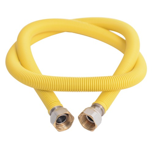 """Flexible device connection spiral 1/2"""" 50-100cm female-female"""