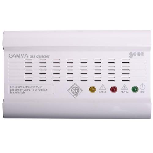 Autonomous gas and natural gas detector GECA
