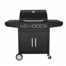 Gas barbeque GS GRILL LUX 3+1 CAST IRON Thermogatz
