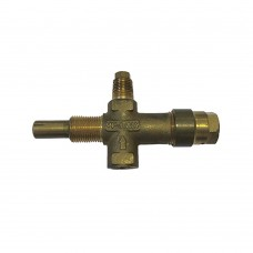 MP magnetic switch with flame adjustment