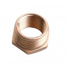 """Brass junction simple screws  1/2"""" - 3/4"""""""