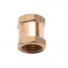Brass socket 1/4 '' Female - Female