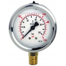 Glycerin manometer Ø63 4bar