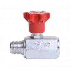 "Pressure button for pressure gauge PN40 1/4 """