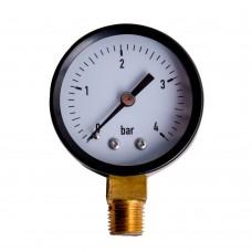 Manometer Ø52 0-4bar