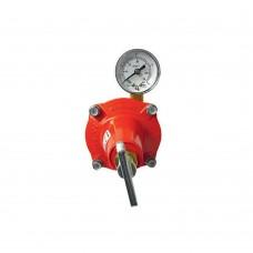 Adjustable High Pressure Regulator 12~18 kg/h with manometer NOVA COMET