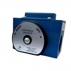 Earthquake protection valve
